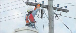 подключения электричества от столба